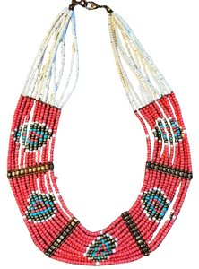 Free People Free People Beaded African Necklace