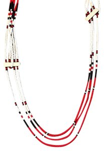 Free People Free People African Long Beaded Necklace