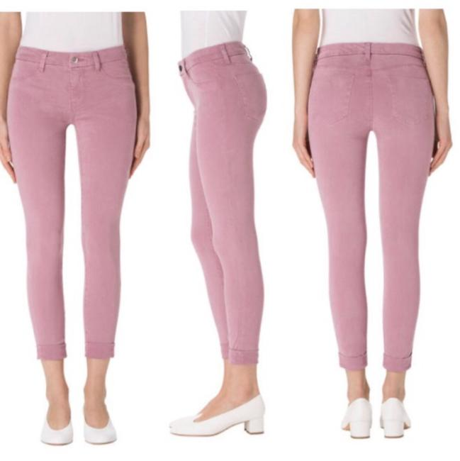 Item - Lilac Light Wash 8020v080-anja Super Cuffed Cropped Skinny Jeans Size 00 (XXS, 24)