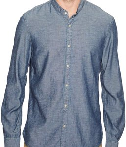 John Varvatos Button Down Shirt Indigo