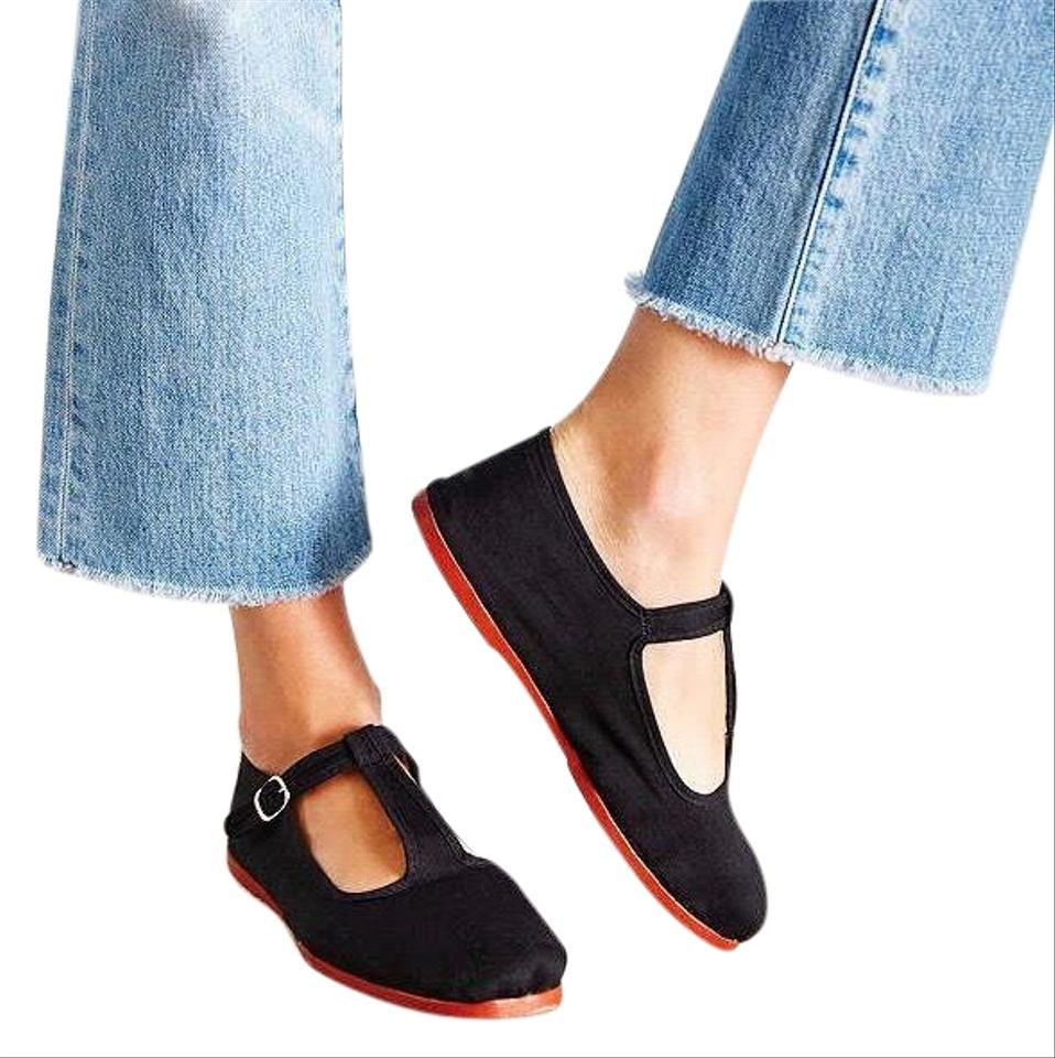 Urban Outfitters Black Mary Jane Flats Size US 8 Regular (M