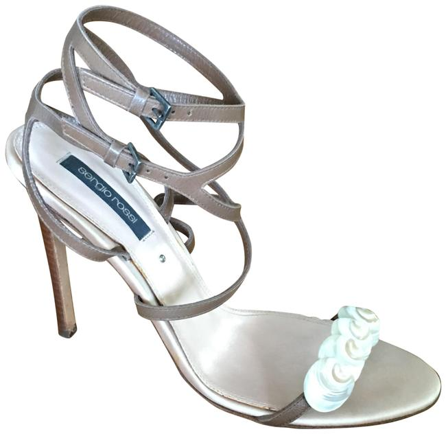 Item - Taupe Strappy Sandals Size EU 40 (Approx. US 10) Regular (M, B)