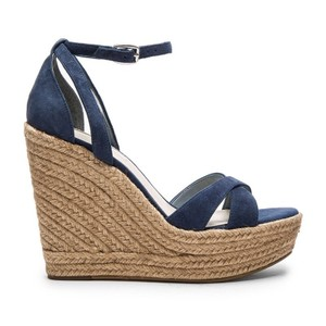 BCBGeneration blue Wedges