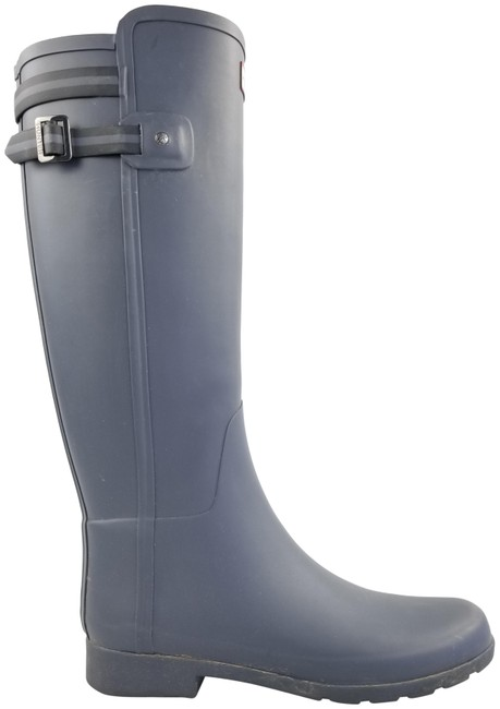 Item - Grey Refined Rubber Boots/Booties Size US 9 Regular (M, B)
