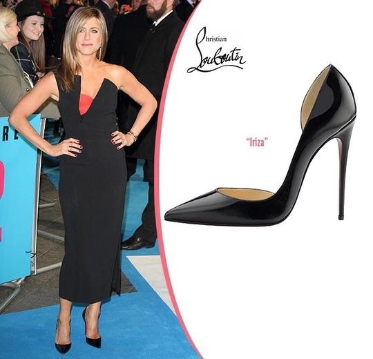 Christian Louboutin Iriza Half-d'orsay 100 Red Sole Patent Black Pumps Image 9