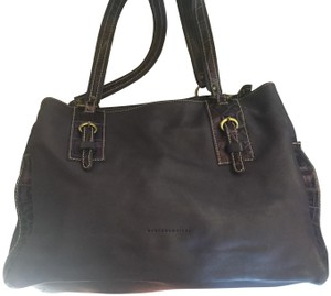 Marco Buggiani Leather Large Shoulder Bag