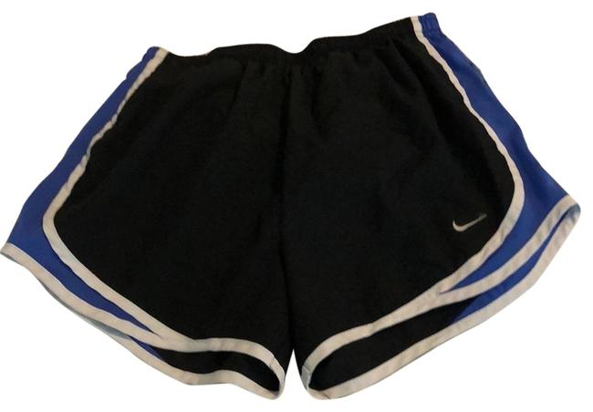 Item - Black Blue and White Dry-fit Shorts Size 4 (S, 27)