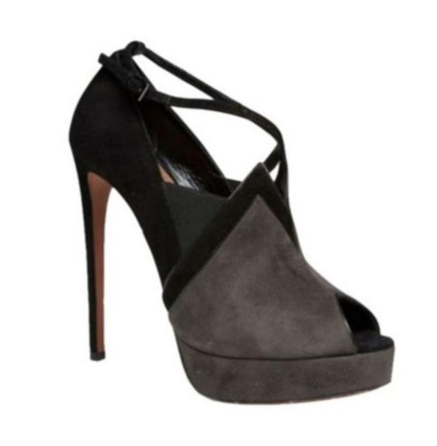 Item - Grey Suede Boots/Booties Size EU 38 (Approx. US 8) Narrow (Aa, N)