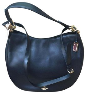 Coach Leather Comfortable With Tags Hobo Bag