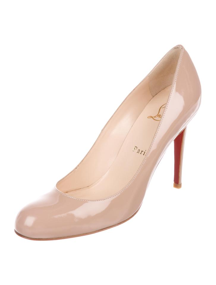 d2d3f8a5f8d Christian Louboutin New Simple 100 Patent Leather 8.5 Pumps Size EU 38.5  (Approx. US 8.5) Regular (M, B) 31% off retail
