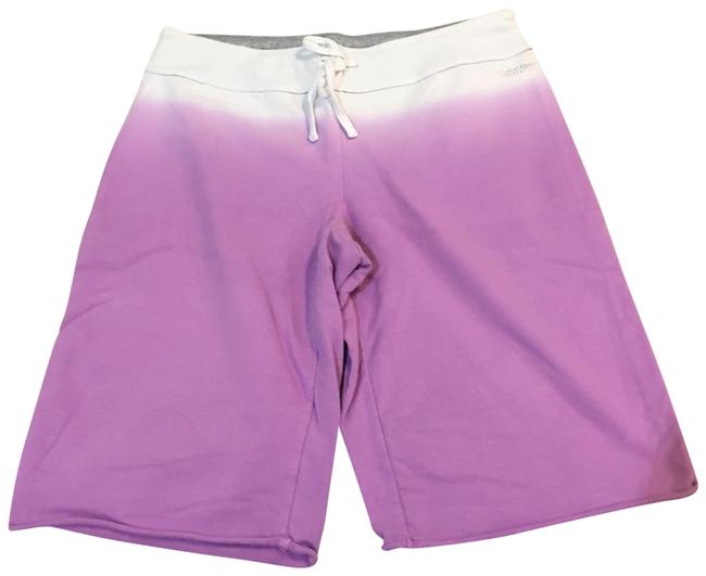 Item - Purple and White Lounge Shorts Size 12 (L, 32, 33)