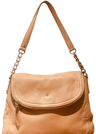 Preload https://img-static.tradesy.com/item/23719352/kate-spade-with-zipper-flap-nude-leather-shoulder-bag-0-1-540-540.jpg