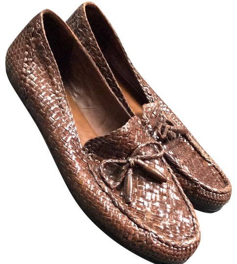 Preload https://img-static.tradesy.com/item/23719370/cole-haan-brown-braided-loafer-flats-size-us-10-regular-m-b-0-1-540-540.jpg