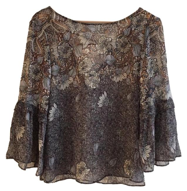 Preload https://img-static.tradesy.com/item/23719409/zara-brown-ruffled-sleeve-criss-cross-back-blouse-size-2-xs-0-3-650-650.jpg