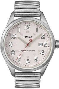 Timex Timex Male Dress Watch T2N311 Silver Analog