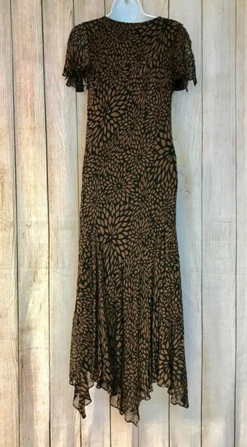 Brown Maxi Dress by Eva Blue Midi