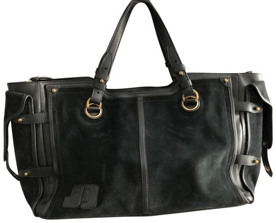 Preload https://img-static.tradesy.com/item/23719637/jerome-dreyfuss-pebbled-leather-paneled-black-suede-leather-tote-0-1-540-540.jpg
