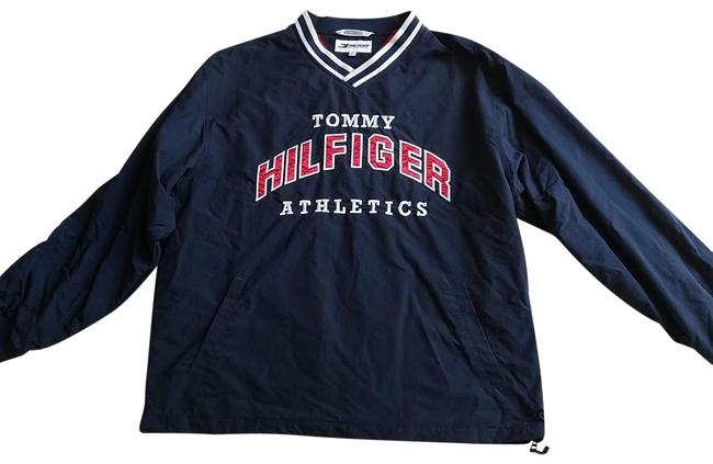 Preload https://img-static.tradesy.com/item/23719643/tommy-hilfiger-navy-blue-with-red-and-white-windbreaker-activewear-size-16-xl-plus-0x-0-1-650-650.jpg