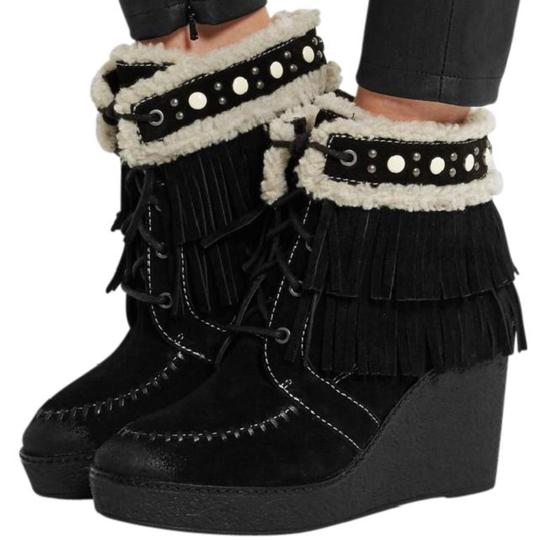 Preload https://img-static.tradesy.com/item/23719696/sam-edelman-black-new-kemper-shearling-lined-fringed-suede-wedge-bootsbooties-size-us-65-regular-m-b-0-0-540-540.jpg
