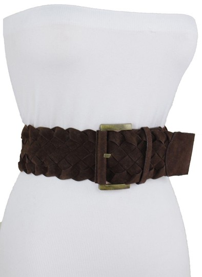 Preload https://img-static.tradesy.com/item/23719701/brown-braided-band-faux-leather-wide-hip-gold-square-buckle-belt-0-1-540-540.jpg
