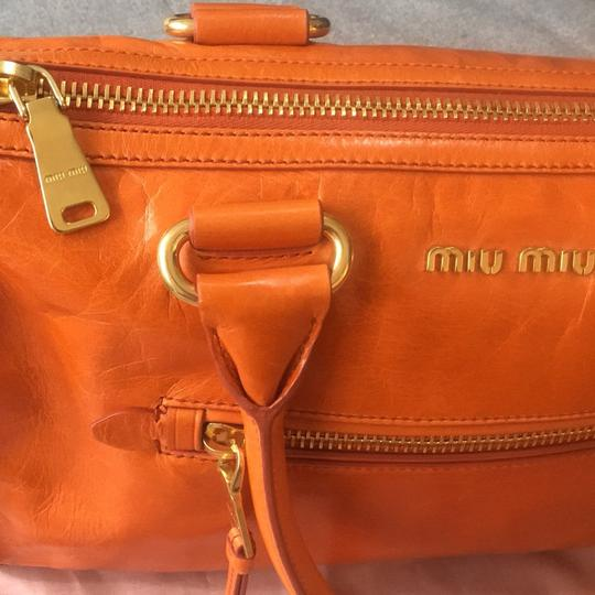 Miu Miu Satchel in Orange