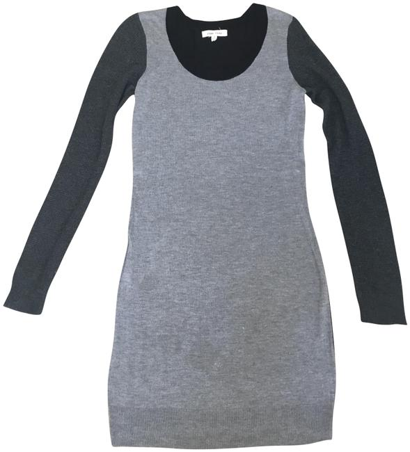 Preload https://img-static.tradesy.com/item/23719724/pink-rose-black-grey-sweaterdress-short-casual-dress-size-4-s-0-1-650-650.jpg