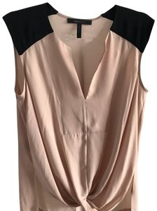 BCBGMAXAZRIA Top Blush/ Black