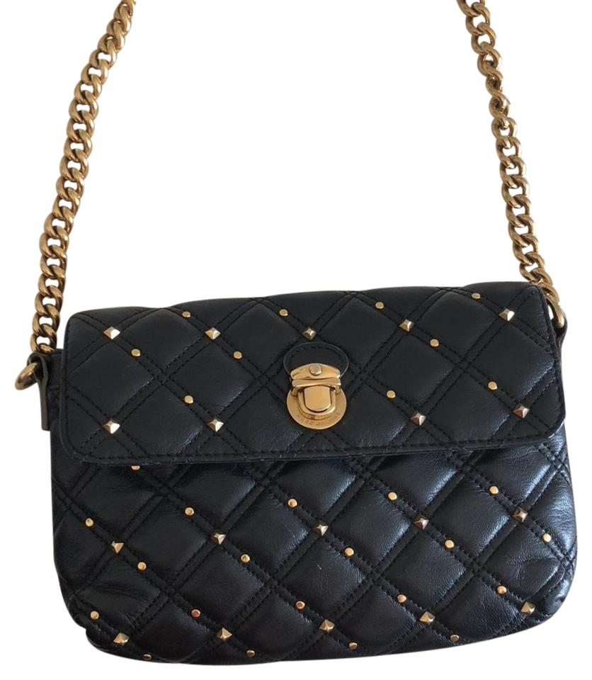 Marc Jacobs Quilted Black Lambskin Leather Cross Body Bag - Tradesy a202bc7ded85a