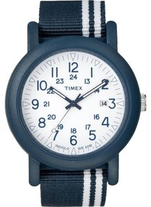 Timex Timex Male Dress Watch T2N325 Blue Analog