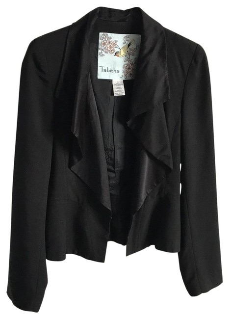 Tabitha From Anthropologie Black Blazer