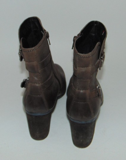 Josef Seibel Moro Brown Ruched Boots