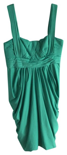 Preload https://img-static.tradesy.com/item/23719832/bcbgmaxazria-green-cocktail-dress-size-2-xs-0-1-650-650.jpg