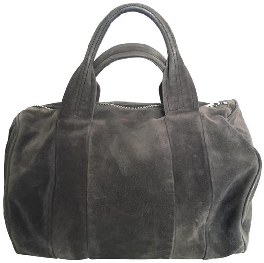 Alexander Wang Satchel in grey / charcoal