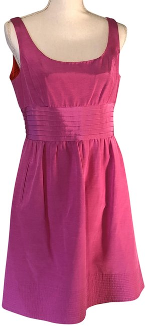 Preload https://img-static.tradesy.com/item/23719933/shoshanna-hot-pinkbarbie-pink-short-cocktail-dress-size-10-m-0-2-650-650.jpg