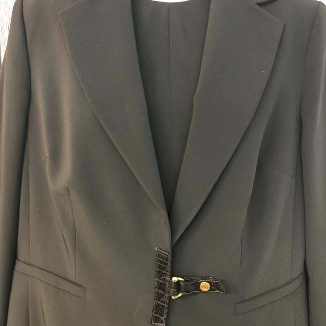 Les Copains Les Copains Made in Italy Taupe Poly Blend Dress Suit 48
