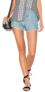 Sanctuary Cut Off Shorts New Chambray Blue