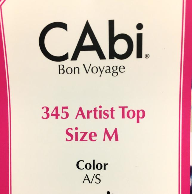 CAbi Vintage Top Multi-colored