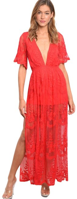 Preload https://img-static.tradesy.com/item/23720003/honey-punch-red-lace-romper-long-casual-maxi-dress-size-4-s-0-5-650-650.jpg
