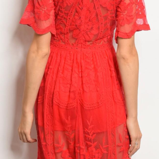 RED Maxi Dress by Honey Punch