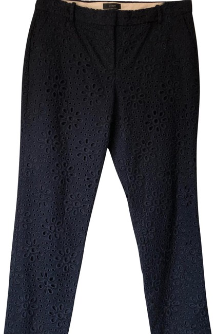 J.Crew Capri/Cropped Pants navy