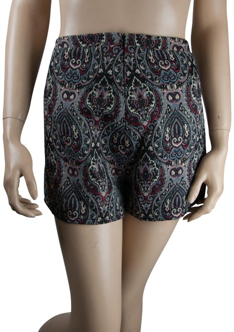 Preload https://img-static.tradesy.com/item/23720026/jack-by-bb-dakota-black-red-paisley-boho-bohemian-minishort-shorts-size-6-s-28-0-1-650-650.jpg