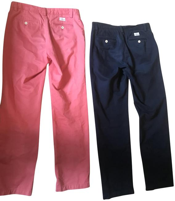 Preload https://img-static.tradesy.com/item/23720035/navy-and-salmon-men-club-pants-size-os-one-size-0-1-650-650.jpg