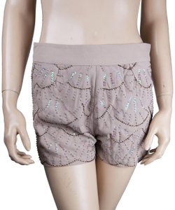 Moon Collection Mini/Short Shorts Beige