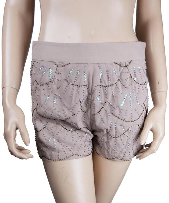 Preload https://img-static.tradesy.com/item/23720049/moon-collection-beige-brown-beaded-hot-pants-sequin-minishort-shorts-size-6-s-28-0-1-650-650.jpg