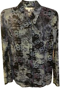 CAbi Vintage Button Down Shirt Snake