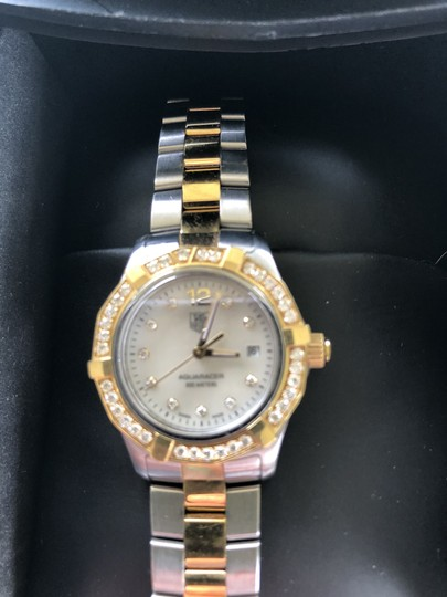 TAG Heuer TAG Heuer Aquaracer Mother of Pearl Diamond Ladies Watch