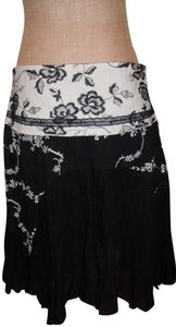 J.VALDI Skirt BLACK/WHITE