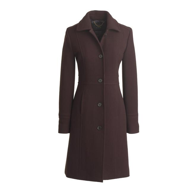 Item - Brown Single-breasted Mid-length Coat Size 6 (S)