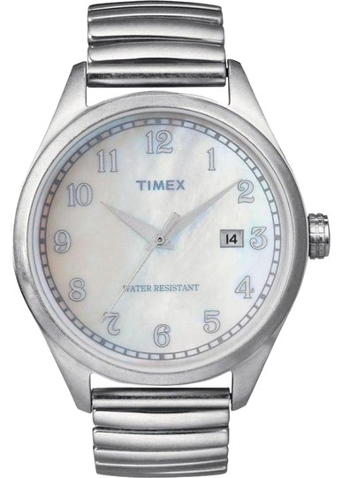 Timex Timex Unisex Dress T2N408 White Analog Watch