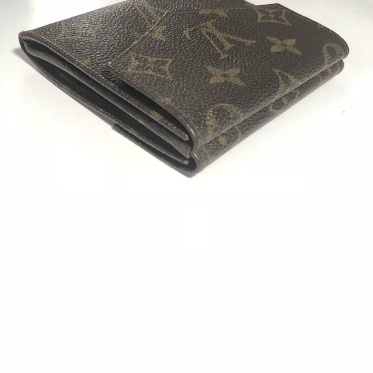 Louis Vuitton LOUIS VUITTON MONOGRAM MULTIPLE TRIFOLD CREDIT CARD WALLET
